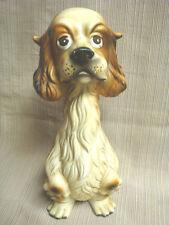 Unusual Vintage English Springer Spaniel - Tall Sad Statue