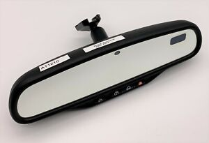 OEM 07-16 Buick Enclave Rear View Mirror Auto Dim Map Lights Reading SOS Switch
