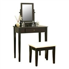 2020 New Vanity Set With Mirror Cushioned Stool Dressing Table Bedroom