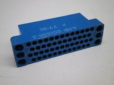 TE A-MP 201358-3 Connector Housing 50-Position M Series Male Plug Block