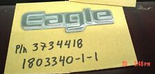 Oct OEM Emblem AMC Eagle 80-86 Part Rear Panel Emblem