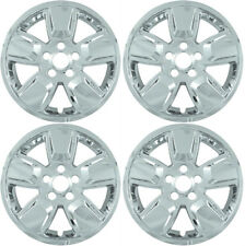 """(4) 2008 JEEP LIBERTY 16"""" CHROME SKINS LINERS HUBCAPS IMP362X-16"""""""