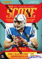 2019 Score Football HUGE Factory Sealed Blaster Box-EXCLUSIVE MEMORABILIA Card