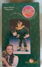 The Wizard of Oz Fabric Mache Table Piece Figures-Scarecrow- Kurt S. Adler