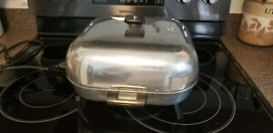 VINTAGE SUNBEAM ELECTRIC SKILLET 12 INCH HIGH DOME 61B-1