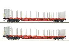 Roco 76141 Güterwagenset Rungenwagen RCA 2x H0