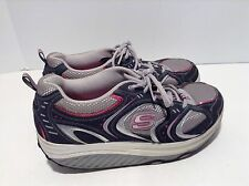 Skechers shape ups 11806 womens size 9.5 pink gray athletic toning shoes