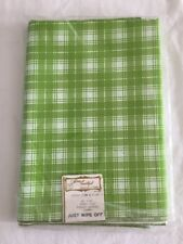 "Vintage Tablecloth 52""x70"" Home Beautiful Creations by Vickie FMS & Bros. NOS"