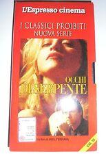 VHS Occhi Di Serpente Madonna Ciccone Harvey Keitel Abel Ferrara Dangerous Game