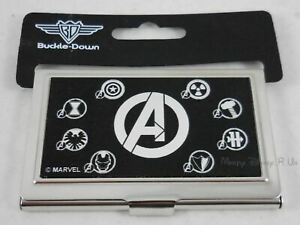 New Marvel Avengers Character Logo Business Card ID Credit Holder Made in USA