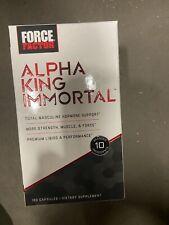 Force Factor Alpha King Immortal