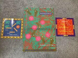 Raindance - Indian Summer - Rave Flyers 1991 & Poster, DJ Rap, Slipmatt, Prodigy