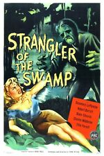strangler of swamp horror sci-fi movie poster urban wall poster