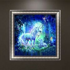 DIY 5D Diamond Embroidery Painting Unicorn Cross Stitch Craft Home Decor Wall