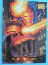 TRADING CARD,   MARVEL MASTER-PIECES 1994 WAR MACHINE.