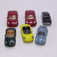 Lot of 5 Toy Car Porsche AG Kinder Egg Surprise