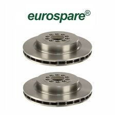 Jaguar S-Type Super V8 XJR Set of 2 Front Brake Disc Rotors C2C 8355