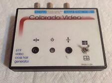 Colorado Video 619 Video Cross Hair Generator
