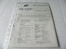 Sansui Factory Original Service Manual RZ-3000 Computerized Stereo Receiver