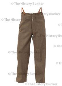 WW1 British army trousers for pattern 02 uniform 34 waist