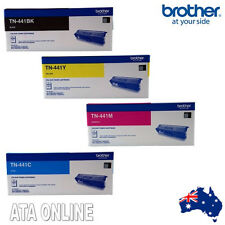 Genuine Brother TN-441 Set of 4 Toner Cart for HL-L8260,L8360,MFC-L8690,L8900