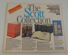 Scott Company US Commemorative Singles #20 130S090 1990 Sealed Stamp Album Pages