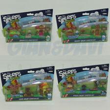 PUFFO PUFFI SMURF SMURFS Jakks Pacific 755254 Micro Smurfs Serie completa 4 Pezz