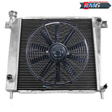 "3Row Aluminum Radiator For 1985-1994 Ford Ranger /1985-1990 Bronco II V6 +16""Fan"