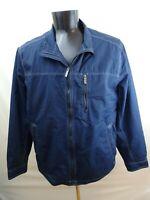 Tommy Bahama jacket Mood Navy Sea Blue windbreaker style full zip XL