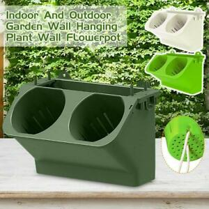 Pocket Self Watering Stackable Vertical Garden Wall Hanging Planter Flower Pot