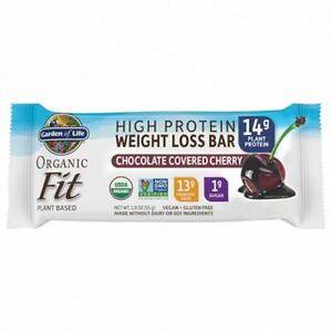 Organic Fit Bar Chocolate Covered Cherry 12 Count