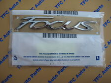 Ford Focus Rear Chrome Rear Emblem Badge New Oem Genuine Ford Part 2012-2014 (Fits: Ford Focus)