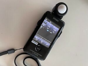Sekonic Litemaster Pro L-478DR + PocketWizard PlusX