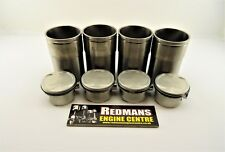 Rover k series 1.6/1.8 pistons + liners set of 4 freelander mgf mgtf 25/45