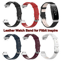 Armbänder Watch Band Armband Echte Lederbänder For Fitbit inspire / inspire HR