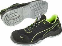 Puma Safety Men's 644210 Fuse TC Green Low S3 ESD SRC Fibreglass Cap Shoes -10US