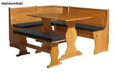 PVC Cushion Set Breakfast Kitchen Nook Solid Wood Seat Dining Corner Bench Pad