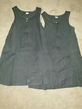 2 Girls Pinafore Dresses Age 6
