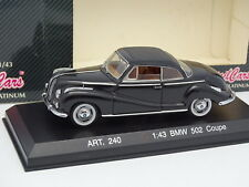 Detalle Cars 1/43 - BMW 502 Coupé Negra