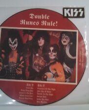 KISS DOUBLE RUNES RULE PICTURE DISC LIVE LP