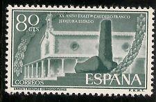 Edifil 1199** Mnh 80 Céntimos Verde  Aniversario General Franco  1956   NL535