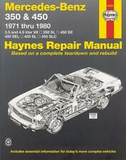 Mercedes 350 450 SL SLC R/C 107 SE SEL W116 Reparaturanleitung workshop manual