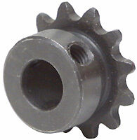 9T 1/4 BORE 25P SPROCKET RC Pulling Puller chain drive