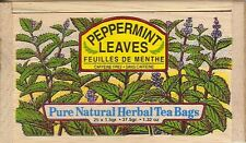 Peppermint Tea - 25 Bags - Decorative Wooden Box