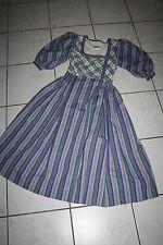 Kl2932 @ bávara @ Trachten vestido @ miederdirndl @ vintage Bavarian dress 34