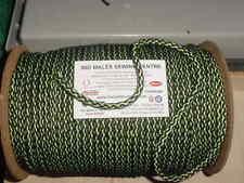 """5 mètres de 1/4"""" Vert/Noir Forte Tricot tirette"""