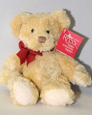 "Russ SPENSER Teddy Plush Stuffed Animal Bear Toy 7"" NWT Very Soft"