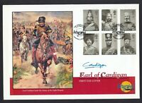 Earl of Cardigan Signed Autograph 2004 Crimea War GB Stamp Set Military Cover