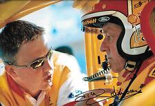 Dick Johnson SIGNED 12x8 Australian Legendary Touring Car Driver & Team Entrant