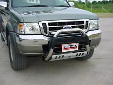Front Bull Bar Stainless Steel Nudge Bar 60MM W/SkidPlate FORD RANGER 1998-2005